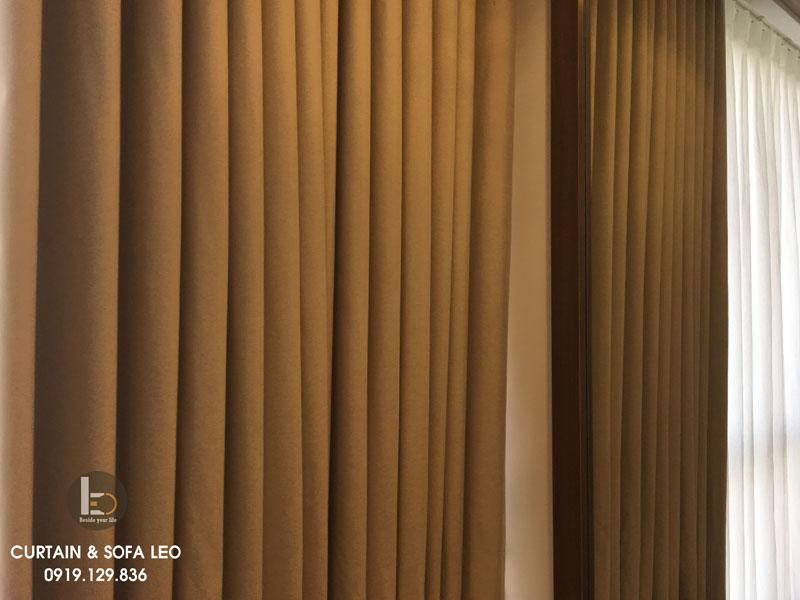 Rèm cửa vải chống nắng Shading, cản nắng, cách nhiệt, cách âm tốt