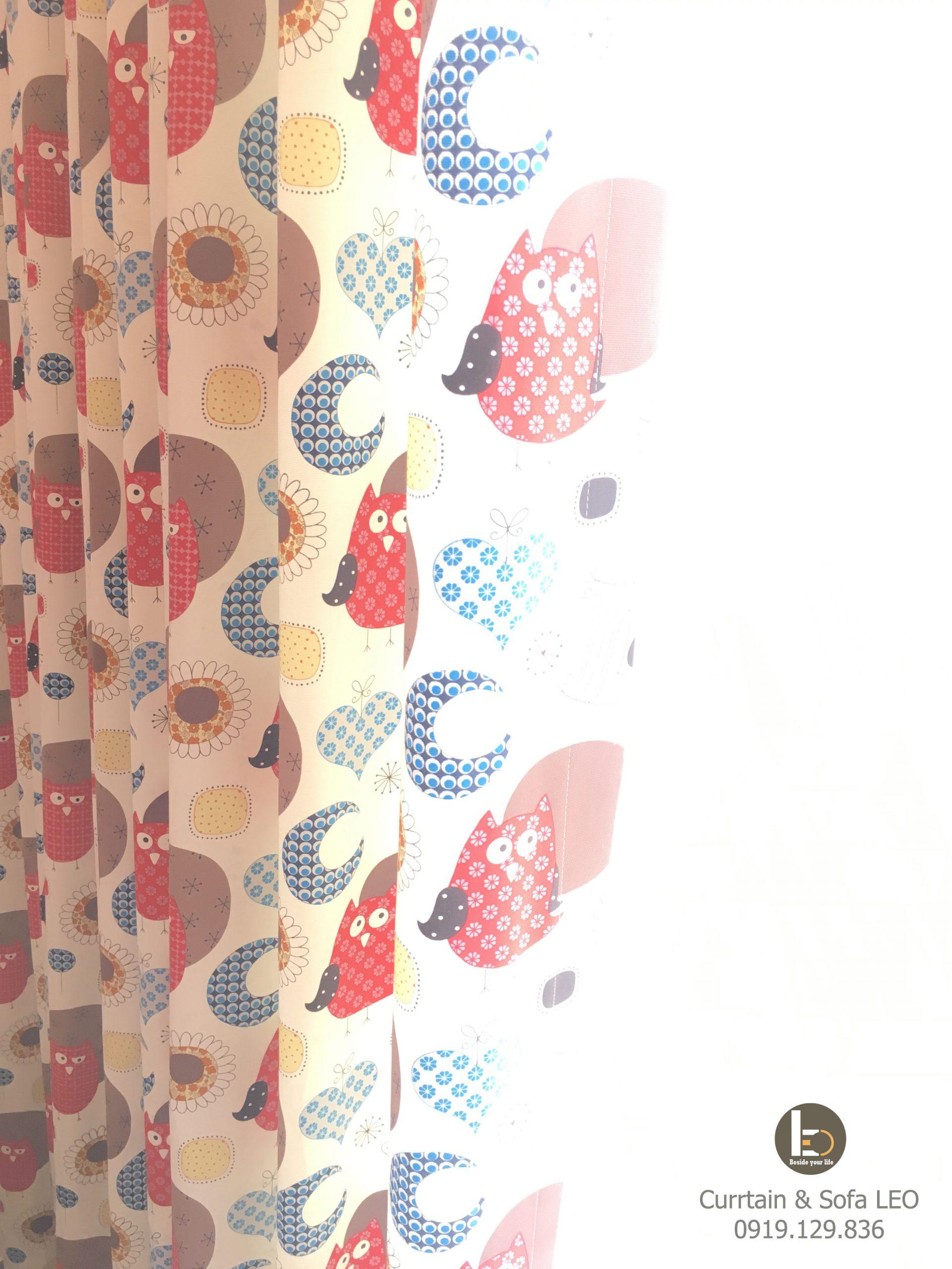 Rèm vải cotton Color of Prints
