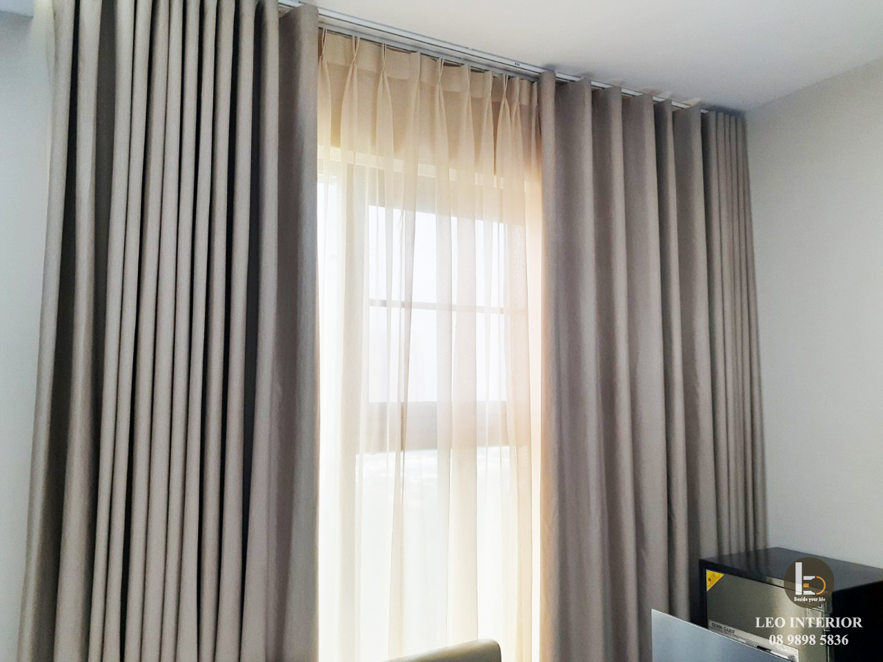 Rèm vải chống nắng Simplicity
