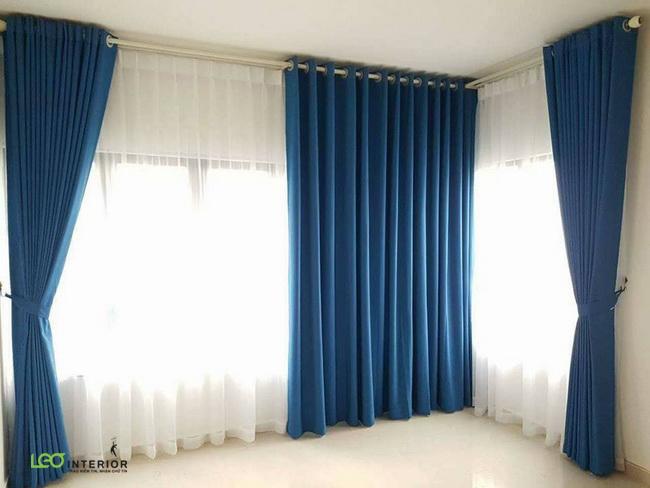Rèm cửa 2 lớp vải chống nắng Belga